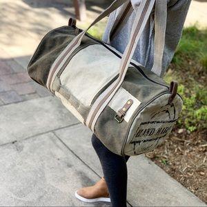 "Handbags - ""Hand made"" duffel travel bag"